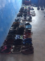 Shoes awaiting new feet